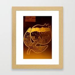 Granade Framed Art Print