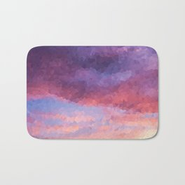 Purple Haze Bath Mat