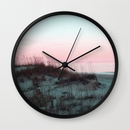Sunrise Over Kill Devil Hills, NC Wall Clock