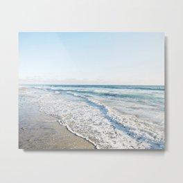 San Diego Waves Metal Print