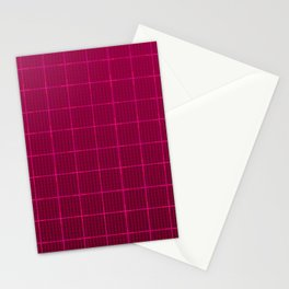 Glama Checks Again (Maroon) Stationery Cards