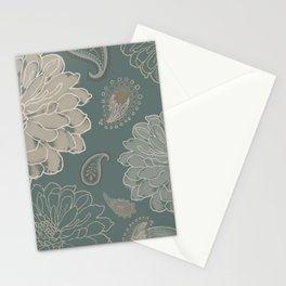 Cocoa Paisley VI Stationery Cards
