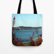 Hello Waldport Tote Bag