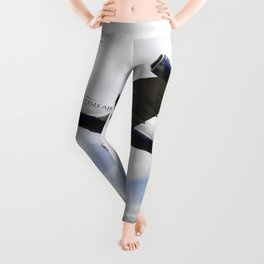 British Airways A380 Heathrow Airport Leggings