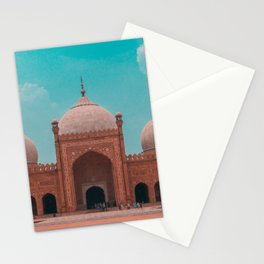 The Badshahi Mosque, Lahore, Pakistan Stationery Cards