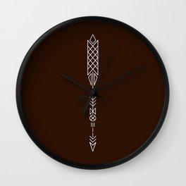 Arrow II Wall Clock