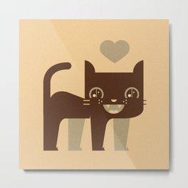 Kittie  Metal Print