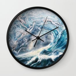 Spirits of the Sea Wall Clock