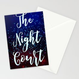 The Night Court Stationery Cards