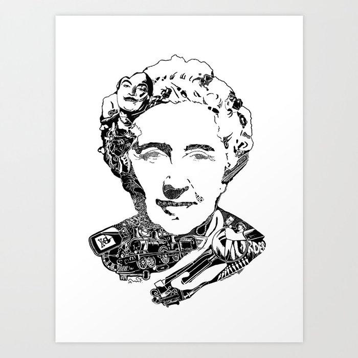 Agatha Christie Art Print