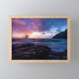 Makapu'u Beach, Hawaii Framed Mini Art Print