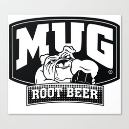 Mug root beer Canvas Print