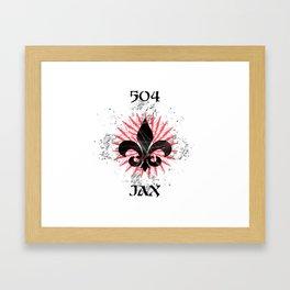 504 JAX - NOLA Burst Framed Art Print