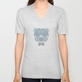 LARPBO Bully Head Unisex V-Neck