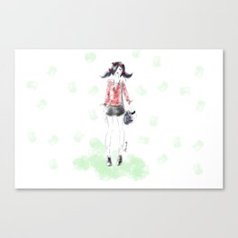 Summer Marinette Canvas Print