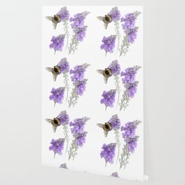 Watercolor Bumble Bee Wallpaper