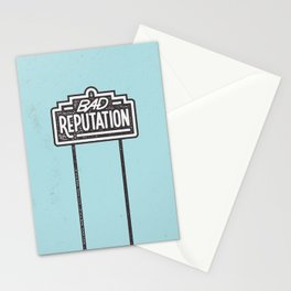 Bad Reputation Stationery Cards