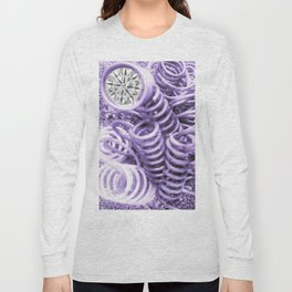 Lilac Industrial Composition Long Sleeve T-shirt
