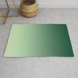 Green Ombre Rug