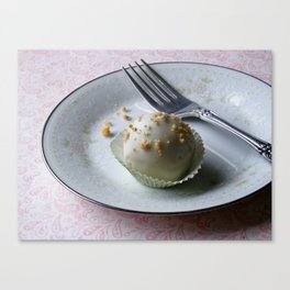 Apple Cider Cake Truffles: Take Two Canvas Print