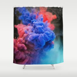 Poof Shower Curtain