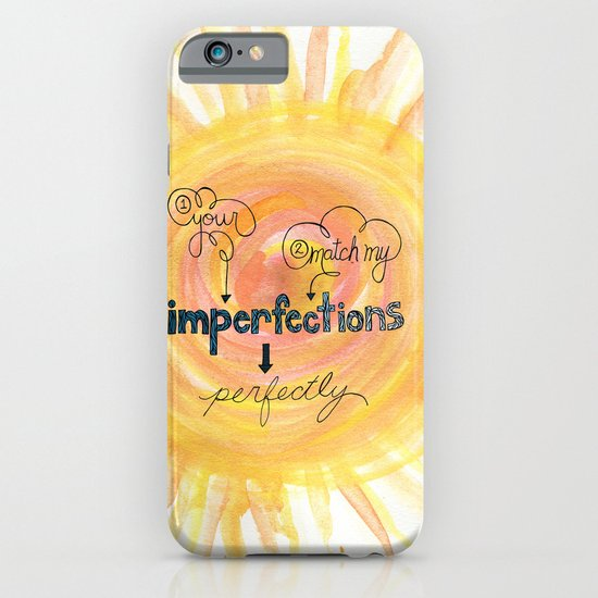 Imperfections iPhone & iPod Case