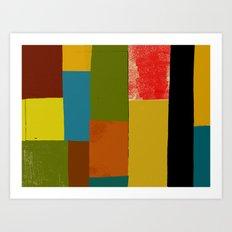 NOLA Patches Art Print
