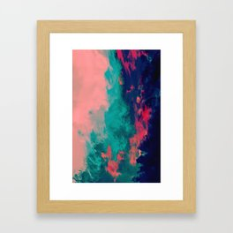 Painted Clouds IV Framed Art Print