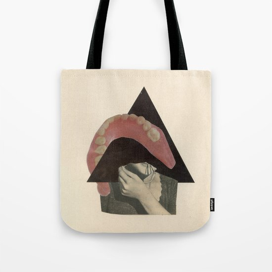 Talking Circles to Empty Faces Tote Bag