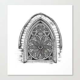 Intricate Architecture Canvas Print
