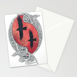HUGIN&MUNIN Stationery Cards