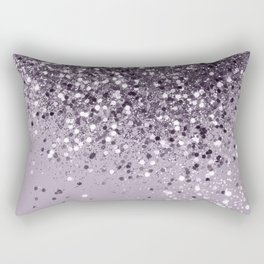 Sparkling Lavender Lady Glitter #2 #shiny #decor #art #society6 Rectangular Pillow