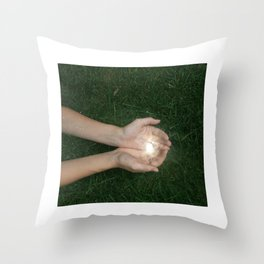 Our Cosmic Connection Throw Pillow