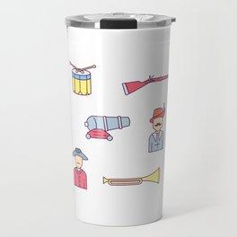 Happy Confederacy Heroes Day Travel Mug