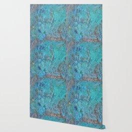 Patina Cast Iron rustic decor Wallpaper