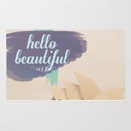 Hello Beautiful (Sydney) Rug