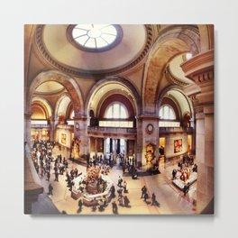Metropolitan Museum of Art Metal Print