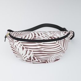 Bright Tropical Island Red Pear Fanny Pack