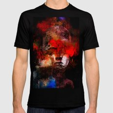 Apocalypse Black LARGE Mens Fitted Tee