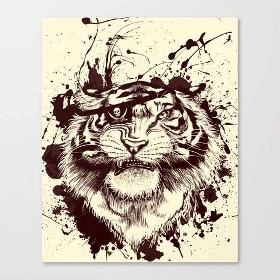 TigARRGH!! Canvas Print