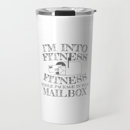 Mailman Gift Into Fitness Whole Package In Your Mailbox Gift Travel Mug