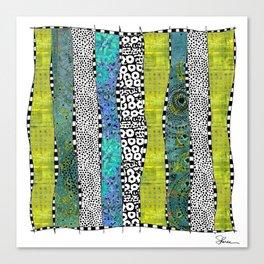 Happy Stripe Canvas Print