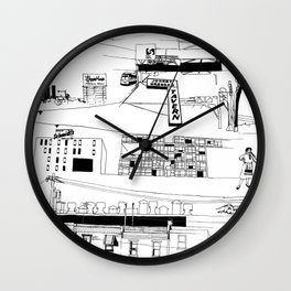 North Philadelphia Wall Clock