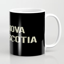 Canadian Flag: Nova Scotia Coffee Mug