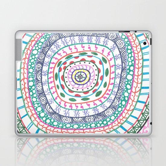 Pattern Go Round Laptop & iPad Skin