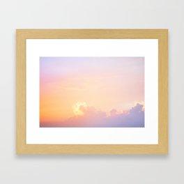 115. Sunset #1, Cuba Framed Art Print