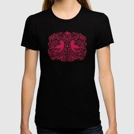 William Morris Style Victorian Birds T-shirt