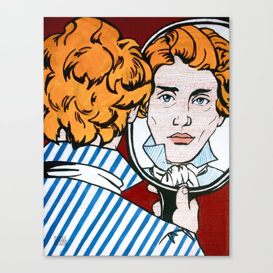 Søren Kierkegaard Canvas Print