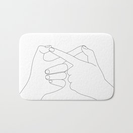 Together Forever Bath Mat
