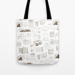 Cover, Contain, COMPOST- 1 of 3 Tote Bag